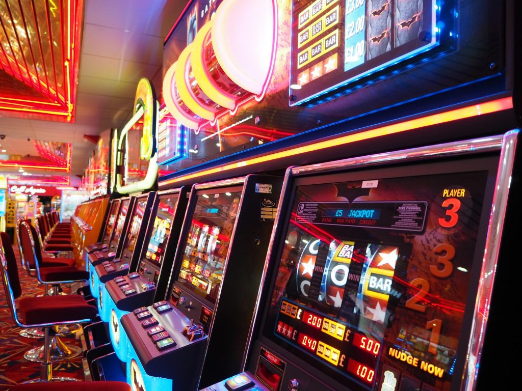 slot games used